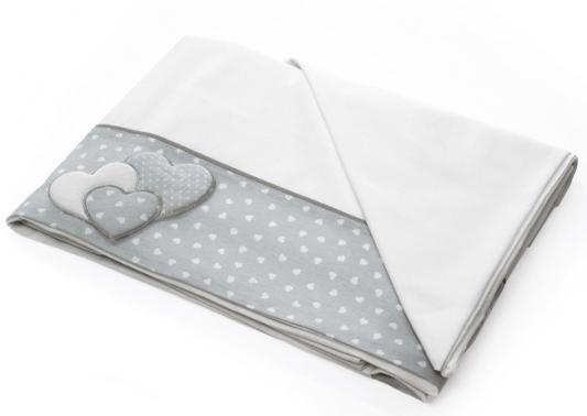 Сменное постельное белье 3 предмета Baby Expert Sogno (белый/серый) постельное белье anel baby star brown 2 предмета