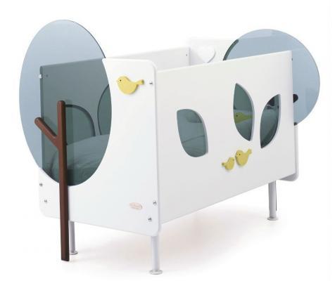 Кроватка Baby Expert Bosco (белый/зеленый) geoby кроватка lmy632ha h453 geoby зеленый