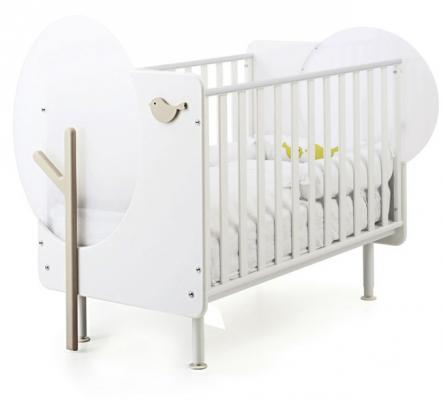 Кроватка Baby Expert Bosco (белый/крем) кровать baby expert кровать baby expert abbracci by trudi крем