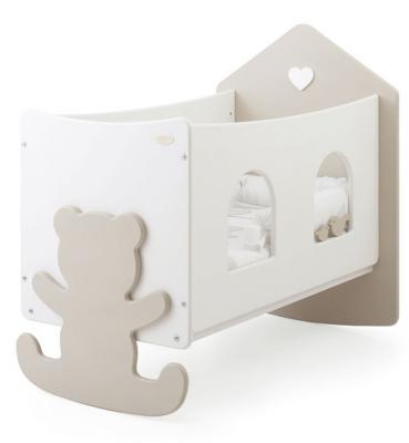Кроватка Baby Expert Casetta (белый/крем) кровать baby expert кровать baby expert abbracci by trudi крем