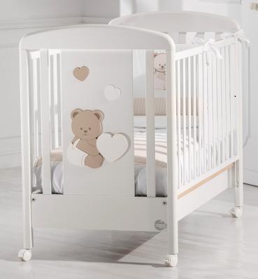 Детская кровать Balu, белый/бледно-коричневый
