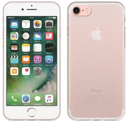 Perfeo клип-кейс для Apple iPhone 6/6S TPU с мягким блеском прозрачный PF_5252 клип кейс ibox fashion дизайн 102 для apple iphone 6 6s с рисунком