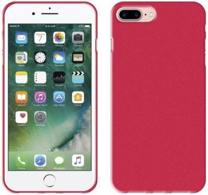 Чехол-накладка Perfeo PF_5257 для iPhone 7 Plus красный радиоприемник perfeo егерь fm красный i120 red