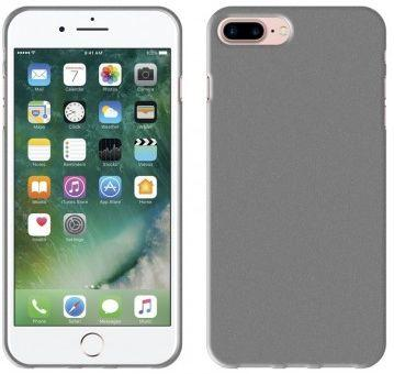 Perfeo клип-кейс для Apple iPhone 7 Plus TPU шероховатый серый PF_5255 чехол perfeo для apple iphone 6 6s plus tpu серый pf 5263