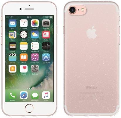 Perfeo клип-кейс для Apple iPhone 7 TPU с мягким блеском прозрачный PF_5249 клип кейс zakka для apple iphone 7 прозрачный
