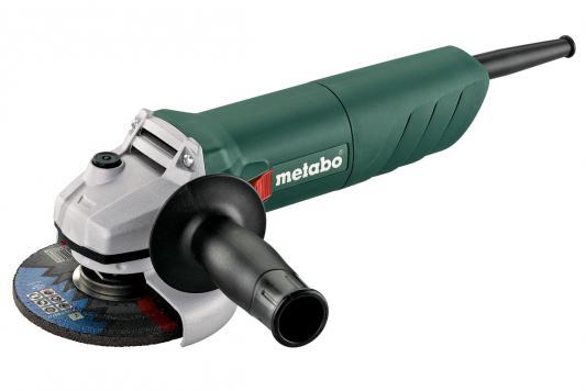 Углошлифовальная машина Metabo W 750-125 125 мм 750 Вт 601231000 полировальная машина по гск dexter power 4 750 вт