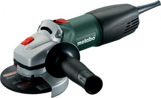 Углошлифовальная машина Metabo WQ 1000 125 мм 1010 Вт