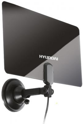 Антенна телевизионная Hyundai H-TAI220 30дБ активная черный сплит система hyundai h ar21 07h