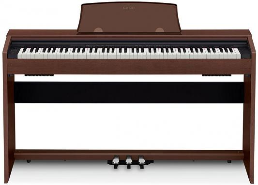 Цифровое фортепиано CASIO Privia PX-770BN 88 клавиш коричневый