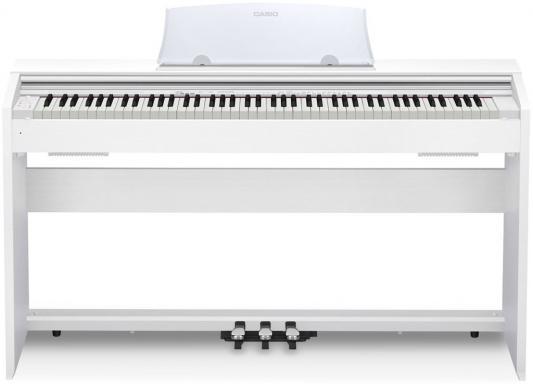 Цифровое фортепиано CASIO Privia PX-770WE 88 клавиш белый casio cdp 130bk цифровое фортепиано black