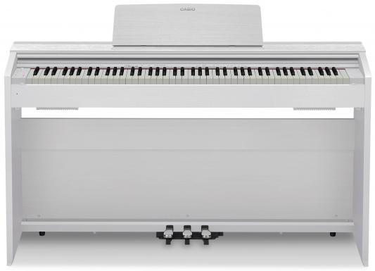 Цифровое фортепиано CASIO Privia PX-870WE 88 клавиш белый