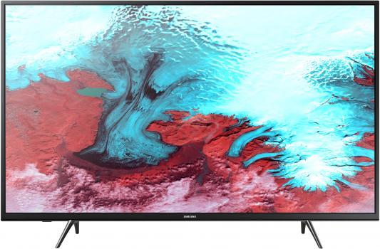 Телевизор Samsung UE43J5202AUX черный цена и фото