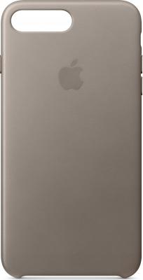 Накладка Apple Leather Case для iPhone 7 Plus iPhone 8 Plus платиново-серый MQHJ2ZM/A ultra thin pc hard back cover phone case for iphone 6 plus 6s plus