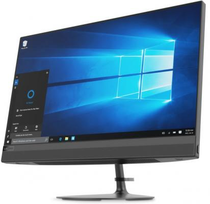 Моноблок 21.5 Lenovo IdeaCentre AIO 520-22IKU 1920 x 1080 Intel Core i5-7200U 4Gb 1 Tb 16 Gb Intel HD Graphics 620 Windows 10 Home черный F0D5000XRK моноблок lenovo ideacentre aio 520 22iku ms silver f0d5000srk intel core i5 7200u 2 5 ghz 4096mb 1000gb dvd rw intel hd graphics wi fi bluetooth cam 21 5 1920x1080 dos