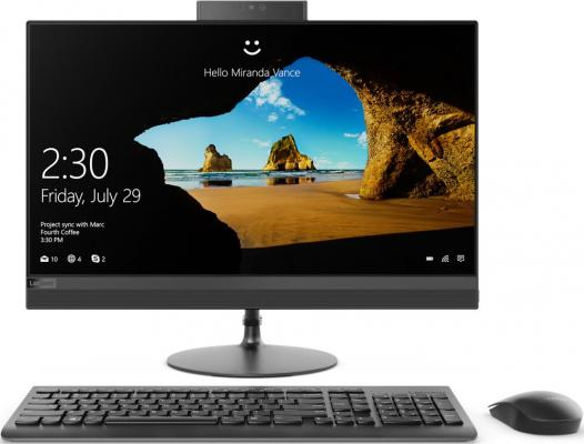 Моноблок 23.8 Lenovo IdeaCentre AIO 520-24IKU 1920 x 1080 Intel Core i5-7200U 4Gb 1Tb + 16 SSD Radeon 530 2048 Мб Windows 10 Home черный F0D2003ERK моноблок lenovo ideacentre 520 24iku intel core i5 7200u 4гб 1000гб intel hd graphics 620 dvd rw windows 10 черный [f0d2003vrk]