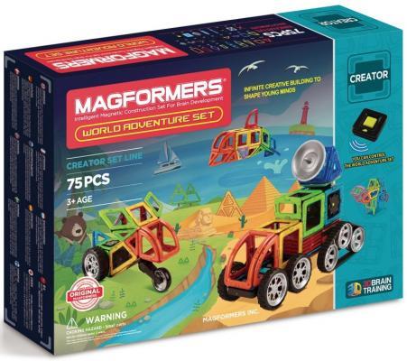 Магнитный конструктор Magformers Adventure World set 75 элементов 703013