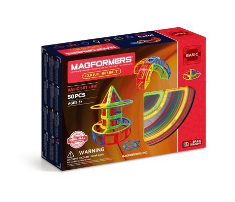 Магнитный конструктор Magformers Curve 50 50 элементов 701012 от 123.ru