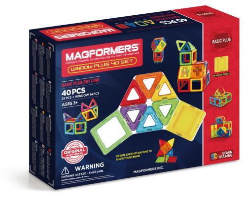 Магнитный конструктор Magformers Window Plus Set 40 элементов 715002 от 123.ru