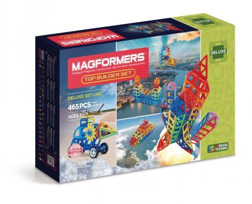 Магнитный конструктор MAGFORMERS 710010 Top Builder set от 123.ru