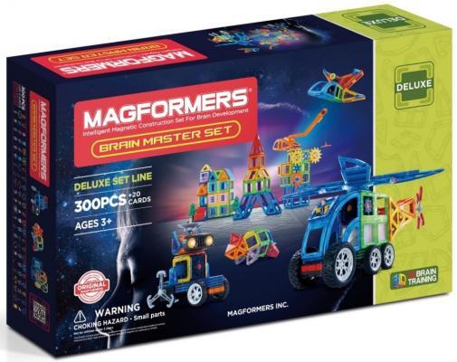 Магнитный конструктор Magformers Brain Master set 300 элементов 710011