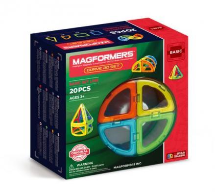 Магнитный конструктор Magformers Curve 20 элементов 701010 от 123.ru