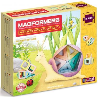 Магнитный конструктор Magformers My First Pastel Set 30 элементов 702013