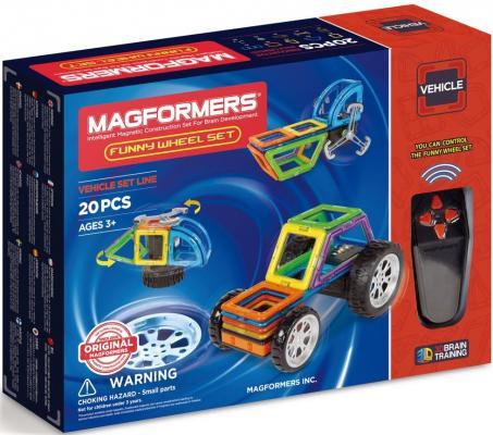 Магнитный конструктор Magformers Funny Wheel Set 20 элементов 707012
