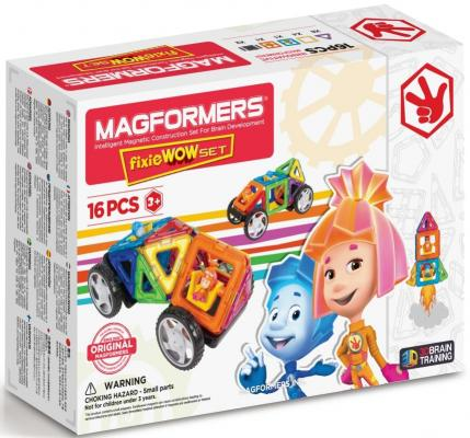 Магнитный конструктор Magformers Fixie Wow set 16 элементов 770001