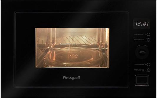 СВЧ Weissgauff HMT-556 900 Вт чёрный