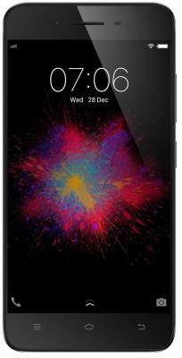 Смартфон VIVO VIVO Y53 Matte Black, 5'' 960x540, 1.4GHz, 4 Core, 2GB RAM, 16GB, up to 256GB flash, 8Mpix/5Mpix, 2 Sim, 2G, 3G, LTE, BT, Wi-Fi, GPS, Glonass, Micro-USB, 2500mAh, Android 6.0, 137g, 144.2x71.4x7.64