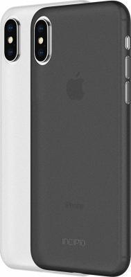 Накладка Incipio Feather Light для iPhone X чёрный белый IPH-1645-FSM