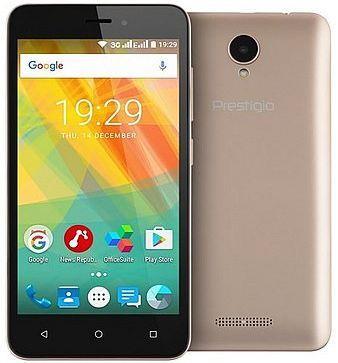 Смартфон Prestigio Wize G3 золотистый 5 8 Гб Wi-Fi GPS PSP3510DUOGOLD