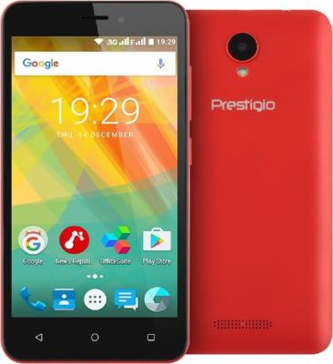 Смартфон Prestigio Wize G3 красный 5 8 Гб Wi-Fi GPS PSP3510DUORED