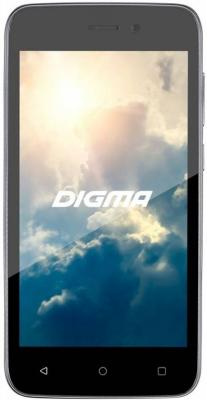 Смартфон Digma Vox G450 3G графит 4.5 8 Гб Wi-Fi GPS 3G DGS-G450GR-361162 смартфон digma vox g450 3g черный vs4001pg