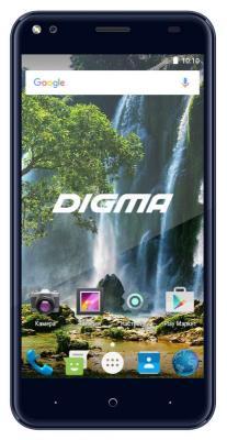 "Смартфон Digma Vox E502 4G темно-синий 5"" 16 Гб Wi-Fi GPS 3G 4G DGS-E502DB-495890"