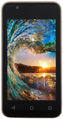 "Смартфон BQ BQ-4072 Strike Mini золотистый 4"" 8 Гб Wi-Fi GPS 3G"