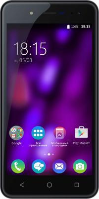 """Смартфон BQ BQ-5057 Strike 2 черный 5"""" 8 Гб Wi-Fi GPS 3G"""