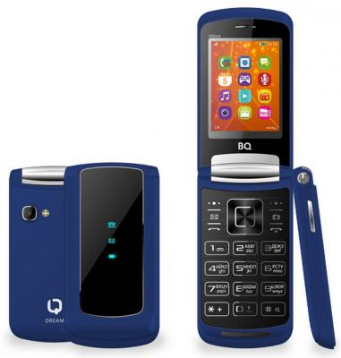 """Мобильный телефон BQ BQ-2405 Dream синий 2.4"""" 64 Мб BQM-2405-DBL"""
