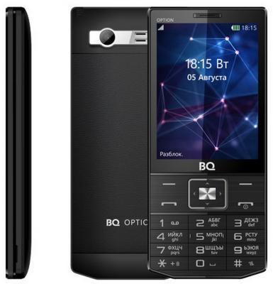 Мобильный телефон BQ BQ-3201 Option черный BQM-3201-BLK