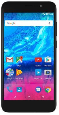 Смартфон ARCHOS Core 50P черный 5 16 Гб LTE Wi-Fi GPS 3G 503417 смартфон archos sense 50 dc золотистый 5 16 гб lte wi fi gps 3g 503525