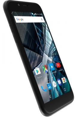 Смартфон ARCHOS Sense 50 DC черный 5 16 Гб LTE Wi-Fi GPS 3G 503437 смартфон archos sense 50 dc золотистый 5 16 гб lte wi fi gps 3g 503525
