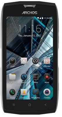 Смартфон ARCHOS Sense 50 X черный 5 32 Гб LTE Wi-Fi GPS 3G 503528 смартфон asus zenfone zf3 laser zc551kl золотистый 5 5 32 гб wi fi lte gps 3g 90az01b2 m00050