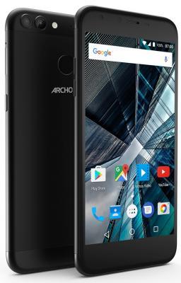 Смартфон ARCHOS Sense 55 DC черный 5.5 16 Гб LTE Wi-Fi GPS 3G 503438 смартфон fly fs523 cirrus 16 lte black