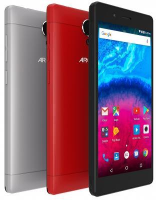 Смартфон ARCHOS Core 50 серый 5 16 Гб LTE Wi-Fi GPS 3G 503585 смартфон fly fs523 cirrus 16 lte black