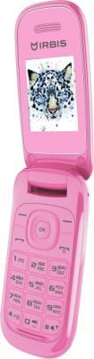 """Мобильный телефон Irbis SF07 розовый 1.77"""" 32 Мб"""
