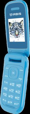 Мобильный телефон Irbis SF07 голубой 1.77 32 Мб мобильные телефоны irbis мобильный телефон sf07 red