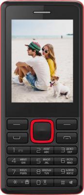 Мобильный телефон Irbis SF12 черный красный