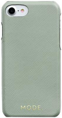 Чехол-накладка dbramante1928 London для iPhone 8/7/6s/6. Материал натуральная кожа/пластик. Цвет зеленый. чехол для ноутбука 12 dbramante1928 skagen натуральная кожа коричневый sk12gt000790