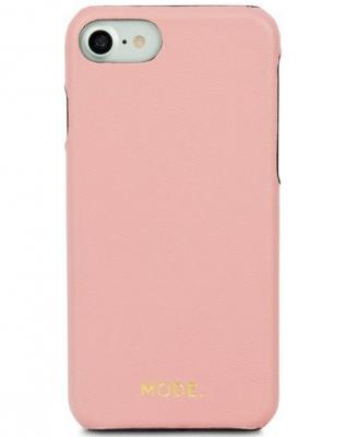 Чехол-накладка dbramante1928 London для iPhone 8/7/6s/6. Материал натуральная кожа/пластик. Цвет розовый. чехол конверт dbramante1928 paris для ноутбука macbook air 13 материал кожа цвет розовый