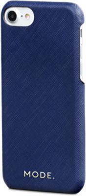 Чехол-накладка dbramante1928 London для iPhone 8/7/6s/6. Материал натуральная кожа/пластик. Цвет синий. цена и фото